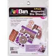 "ArtBin Magnetic Sheets, 7.325"" x 9.125"", 3/Pk (6979AB)"
