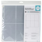 "We R Memory Keepers  6"" x 4"" Pockets We R Ring Photo Sleeves 12"" x 12"", Pack of 10 (WR660138)"