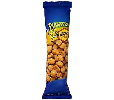 Peanuts Honey Roasted Tube 2.5 oz., 3