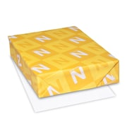"Neenah Astrobrights Paper, 8.5"" x 11"", 135lb., Cover, Duplex Cover, Yellow/White, 1500/Carton (45305A)"