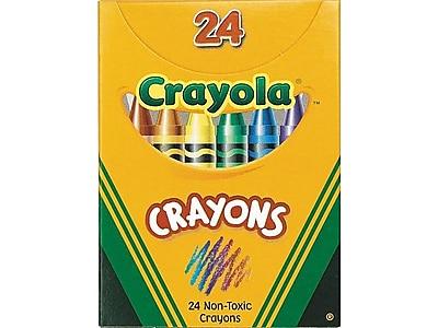 Crayola Crayons, 24/Box (52-0024)