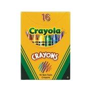 Crayola Crayons, 16/Box (52-0016)