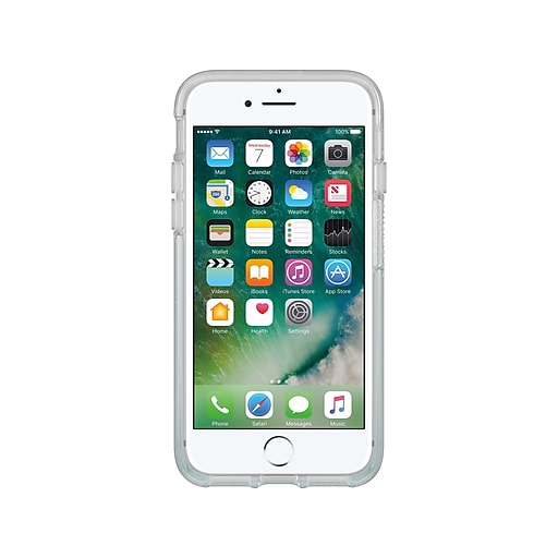 new style ba5ff 37d9d OtterBox Symmetry Cover for iPhone 7/8, Aloha Ombre (77-56722)