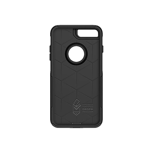 promo code 5ce90 59f14 OtterBox Commuter Cover for iPhone 7 Plus /iPhone 8 Plus, Black (77-56852)