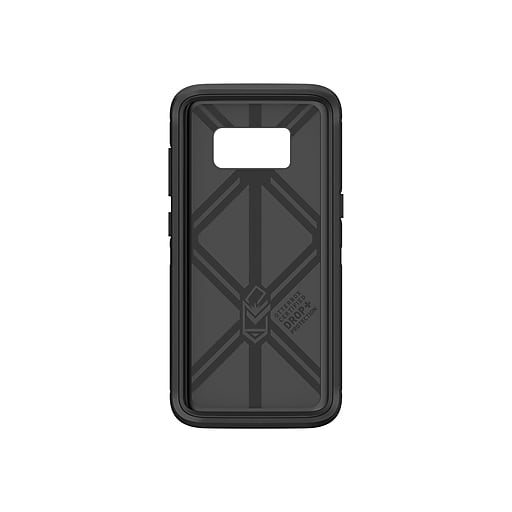 watch 8255a 2d838 OtterBox Defender Rugged Case for Galaxy S8, Black (77-54515)