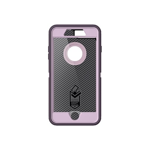 wholesale dealer a710b 106ae OtterBox Defender Carrying Case (Holster) for iPhone 8 Plus, iPhone 7 Plus,  Purple Nebula (77-56827)