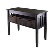 """Winsome Morris 40""""W x 18.11""""D Console Table, Espresso (92452)"""