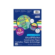 "Pacon SunWorks Smart-Stack 9""W x 12""H Construction Paper, Assorted, 300/Pack (6525)"