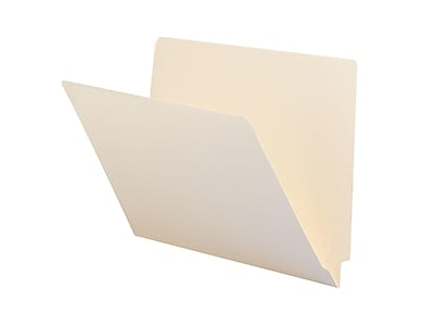 Smead End Tab File Folder, Straight-Cut Tab, Letter Size, Manila, 100/Box (24100)