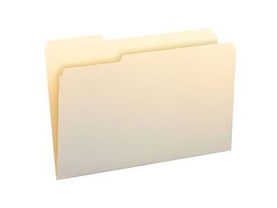 Smead File Folder, 1/3- Cut Tab Left Position, Legal Size, Manila, 100/Box (15331)