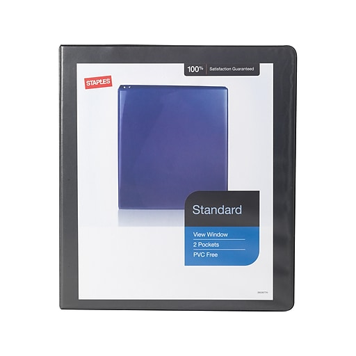 Shop Staples For Staples Standard View 1-Inch D 3-Ring
