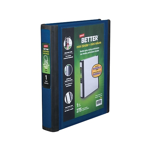 Shop Staples For Staples Better Mini 1-Inch D 3-Ring View