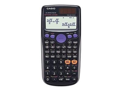 Casio FX-300ES Plus 16-Digit Scientific Calculator, Black
