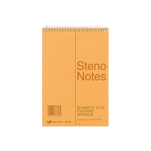 National Steno Pad, 6