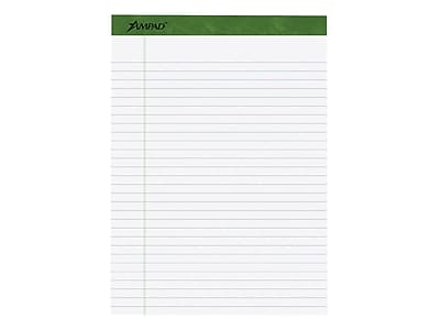 Ampad Earthwise Notepads, 8.5