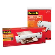 Scotch™ Thermal Laminator with 20 Letter Size Pouches (TL1302VP)