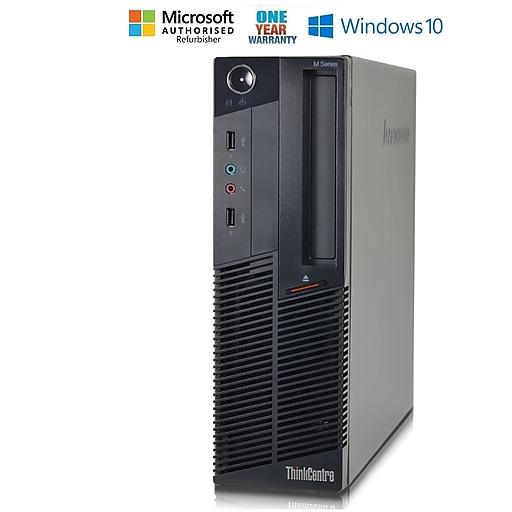 Lenovo ThinkCentre M90 Small Form Factor, Intel core i5 650 3.0Ghz Processor, Refurbished