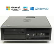 HP 6000 Pro, Small Form Factor Desktop Computer, Intel core 2 Duo E8400 3.0 GHz Processor, Refurbished