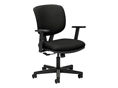 HON Volt Wood Composite/SofThread Leather Task Chair, Black (HON5701ASB11) NEXT2019