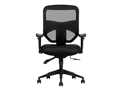 basyx by HON Prominent Mesh Back Polyester/Nanotextile Task Chair, Black (BSXVL532MM10)