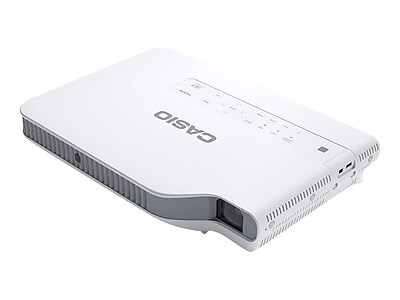 Casio Slim Business XJ-A242 DLP Projector, White