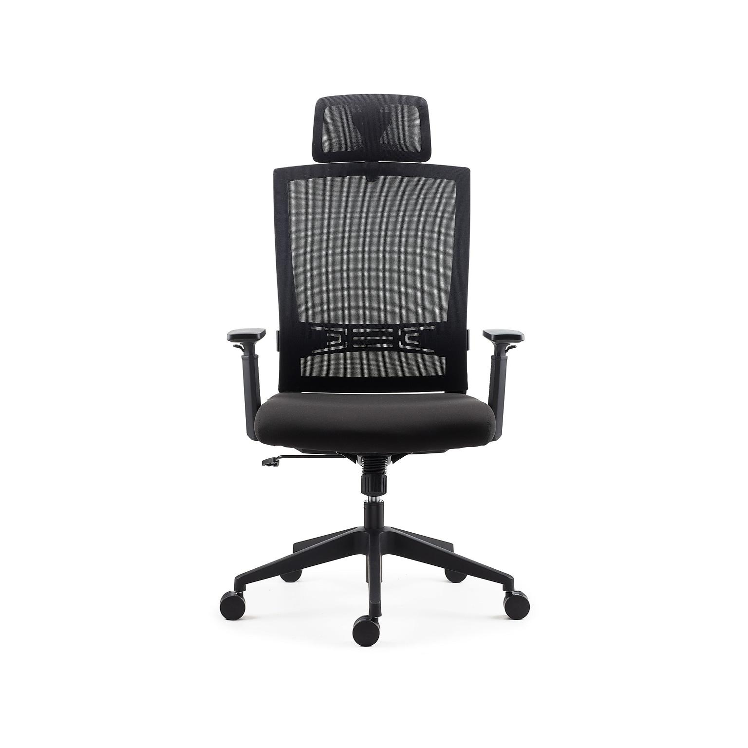 Staples Tarance Mesh Back Fabric Task Chair (Black)