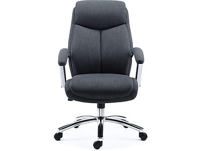 Ordinaire Staples Fayston Fabric Computer And Desk Chair, Charcoal (51462)
