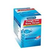 PhysiciansCare Cough & Sore Throat Lozenges, Cherry, 50/Box (90306)