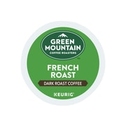 Green Mountain Coffee Roasters French Roast Coffee, Keurig® K-Cup® Pods, Dark Roast, 24/Box (6694)