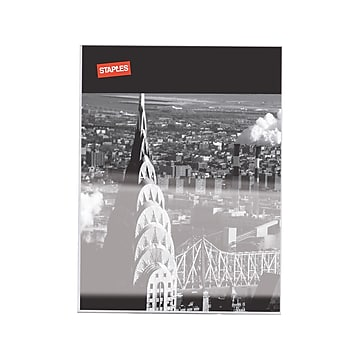 """Staples Sign Holder, 8.5"""" x 11"""", Clear Plastic (53127/18389)"""