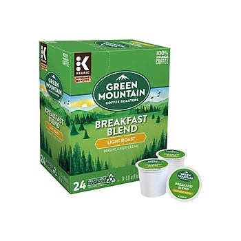 6-Pack X 24-Count Green Mountain Coffee Keurig K-Cup Pods (Total 144-ct)