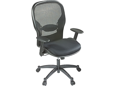 Exceptionnel Office Star Seating Mesh Managers Office Chair, Black, Adjustable Arm  (2300) | Staples