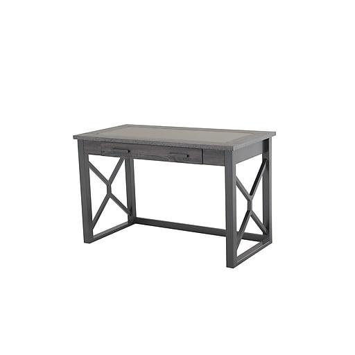 Shop Staples For Ridgecrest Writing Desk Gray 1205010048