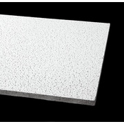 Armstrong Fine Fissured Ceiling Tile, Lay In 2'x4' White, Pack of 12 (1729A)