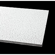 """Armstrong 24"""" x 48"""" Fine Fissured Ceiling Tiles, White, 12/Carton (1729A)"""