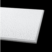 Armstrong Fine Fissured Angled Tegular Ceiling Tile, 2'x2' White, Pack of 16 (1732)