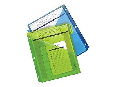 Avery® 11906 Big Tab™ Two Pocket Insertable Plastic Divider, 5 Tab