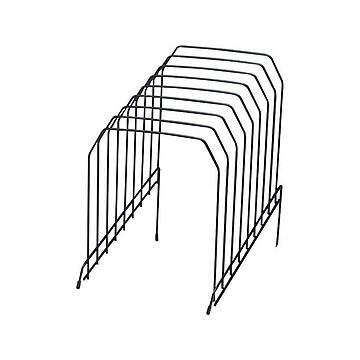 Staples Metal Incline Sorter, Black (10855)