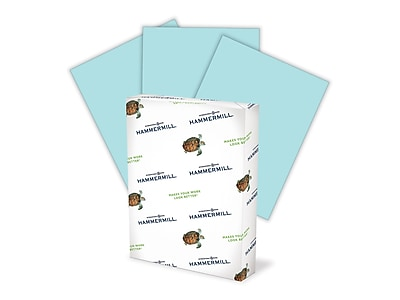 Hammermill Colors Paper, 20 lbs, 8.5