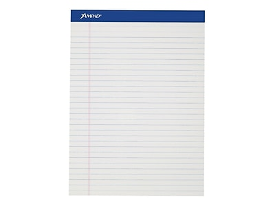 Ampad Notepads, 8.5