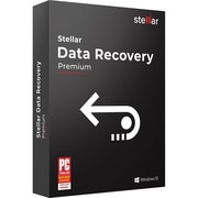 Stellar Data Recovery Software Premium for 1 User, Windows, Download (SDRSWPREV82018)