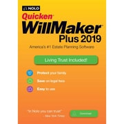 Nolo Quicken WillMaker Plus 2019 & Living Trust for 1 User, Windows, Download (ESD-WM9)