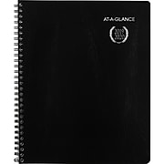"""2019-2020 At-A-Glance 8"""" x 9 7/8"""" Collegiate Academic Weekly/Monthly Planner, 13 Months, July Start, Black (70-Cp01-05-20)"""
