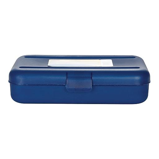 Staples Snap Plastic Case, Blue (22860)