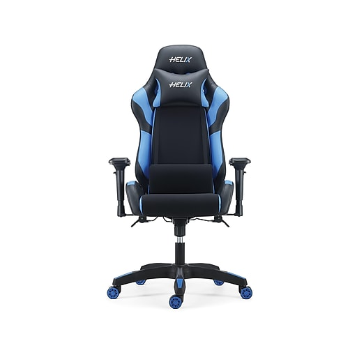 Staples Helix Gaming Chair With Cooling Technology Blue