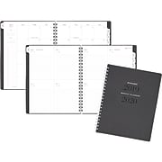 """2019-2020 At-A-Glance® 8 3/4"""" x 11"""" Academic Weekly/Monthly Planner, July Start, Heather Gray (YP905A-4520)"""