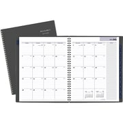 "2019-2020 At-A-Glance 8 1/2"" x 11"" Academic Dayminder Monthly Planner, 12 Months, July Start, Charcoal (AYC470-45-20)"