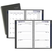 """2019-2020 At-A-Glance 4 7/8"""" x 8"""" Academic Dayminder  Weekly/Monthly Planner, 12 Months, July Start, Charcoal (Ayc200-45-20)"""
