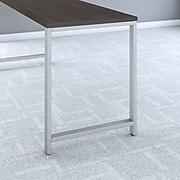 Bush Business Furniture 400 Series 72W x 24D Table Desk, Storm Gray (400S148SG)