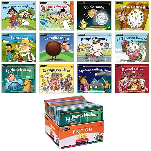Newmark Learning Spanish Rising Readers Nursery Rhyme Tales, 6 Copy Set 1, Pre-K-1, NL1989